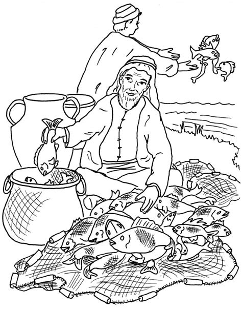 Fishers Of Men Coloring Pages Az Coloring Pages Fishers Of Coloring Pages