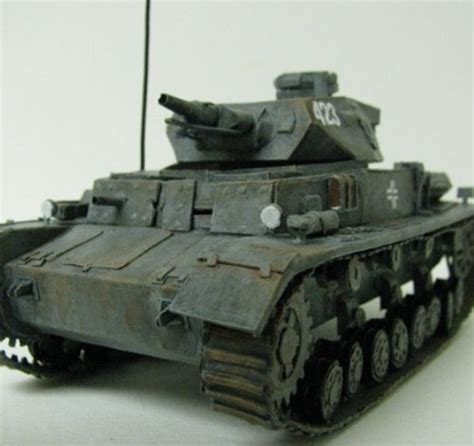 Tank Papercraft - german panzer tank papercraft cool stuff