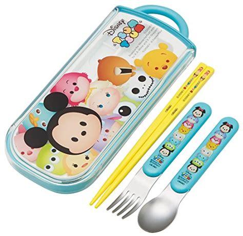 Sumpit Chopsticks Acrylic With Tsum Tsum Mike Ori Disneyland sliding trio set chopsticks spoon fork tsum tsum disney tcs1a