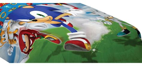 sonic the hedgehog bedding sonic hedgehog speed video game twin bed comforter