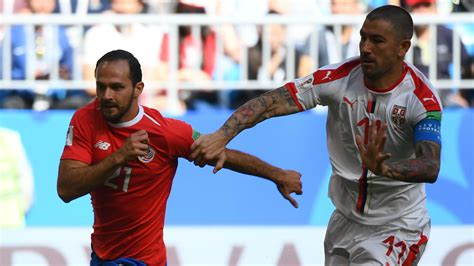 costa rica vs serbia live text commentary line ups