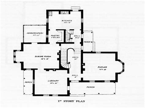 victorian floor plan victorian house floor plans old victorian house plans