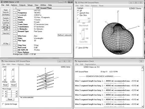 eznec antenna software electronics communication resources