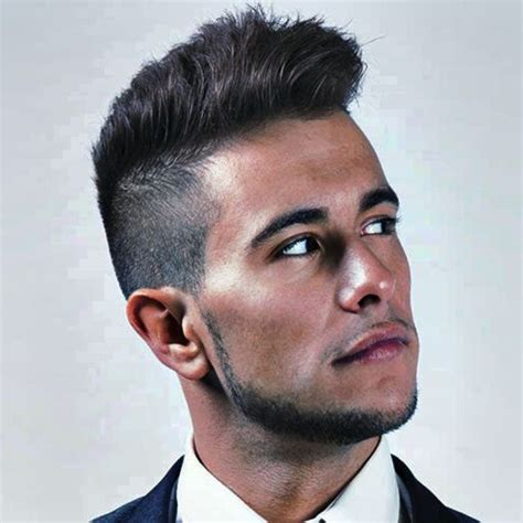 Hairstyle On Side On Top S by Sides Top Mens Haircut Hairstyle For