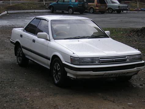 Vista Toyota 1989 Toyota Vista Pictures 1800cc Gasoline Ff
