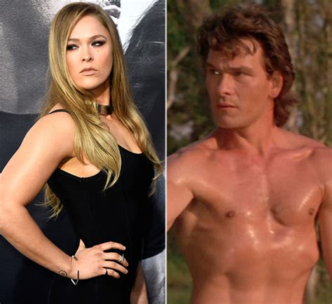 road house movie cast ronda rousey cast in road house remake taking on patrick swayze s role