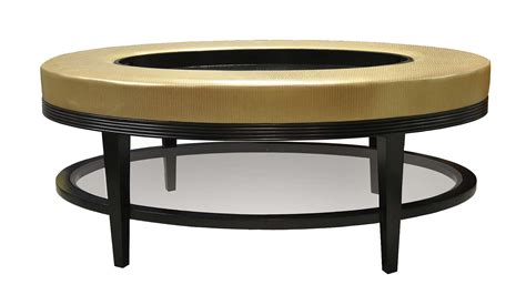 plush home carlisle oval coffee table ottoman