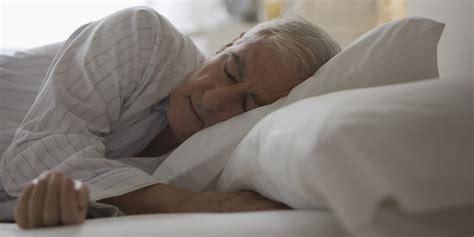 old man in bed sleep disorder increases suicide risks for older adults