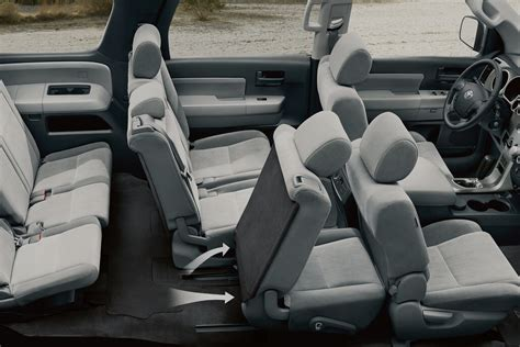 Toyota Sequoia Interior The 2017 Toyota Sequoia Continues Its Tradition Of Versatility
