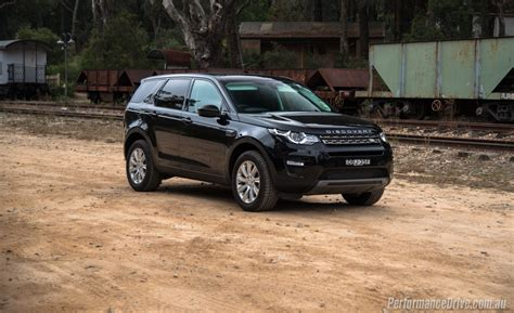 black land rover 2016 land rover discovery sport td4 se review video
