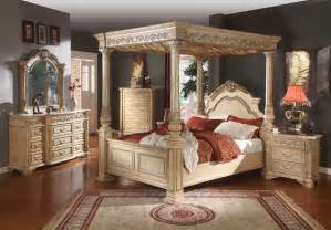 Cheap Canopy Bedroom Sets Sale Hudson Canopy Bedroom Set In Grey Velvet By Meridian
