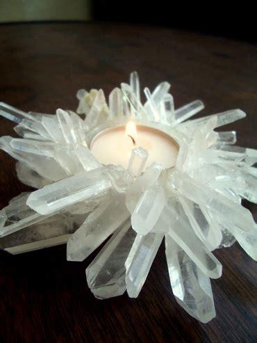 diy ideen hauptdekor die besten 25 diy quartz candle holder ideen auf