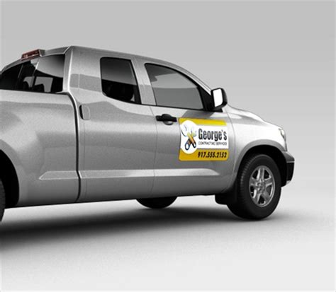Magnetschild Auto by Truck Magnets Custom Business Magnets For Trucks
