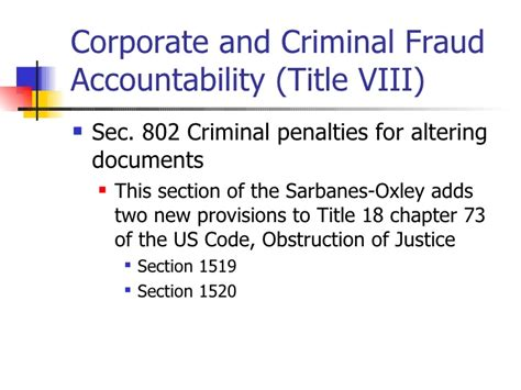 sox section 802 sarbanes oxley primer on document retention policies