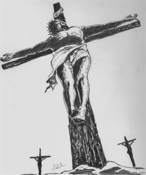 Pencil Shading Light And Shade Page 2 Jesus On The Cross Drawings