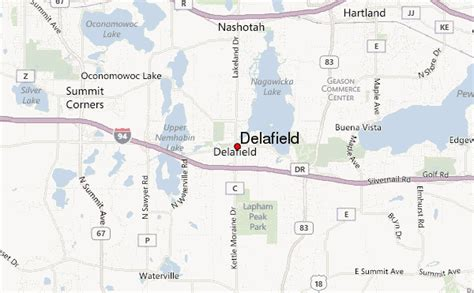 delafield location guide
