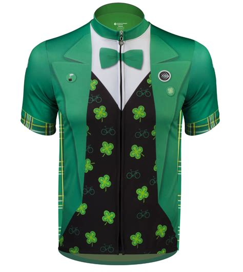 design jersey cycling lucky leprechaun the official st patty s day cycling jersey