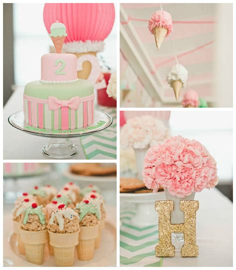 ice cream birthday party ideas kara s party ideas pastel ice cream parlor themed birthday