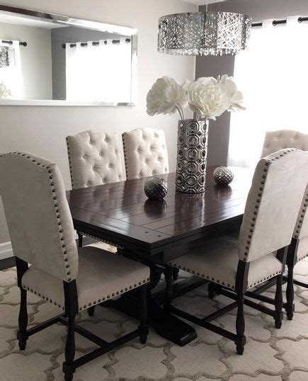 decor for dining room table 25 best ideas about modern chic decor on