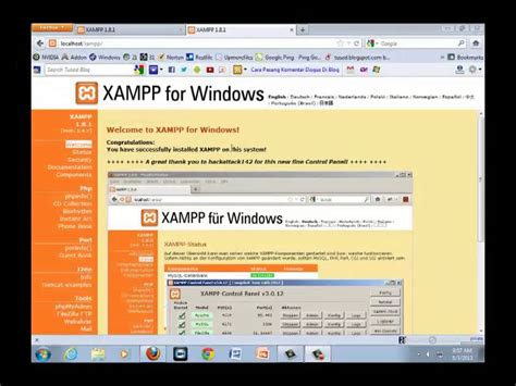 membuat cms wordpress tutorial membuat website dengan cms wordpress di xampp