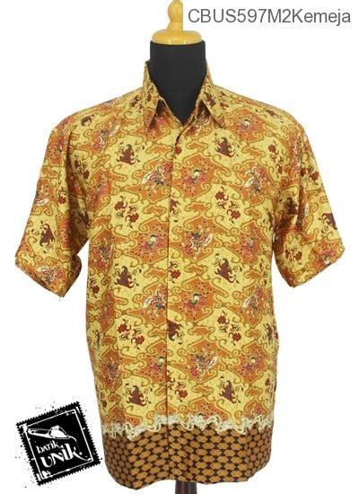 Kemeja M2 Baju Batik Sarimbit Kemeja Motif Katulistiwa Kemeja