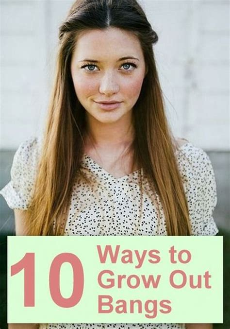 hairstyles to help grow out a bib growing out bangs 10 ways to pin them back