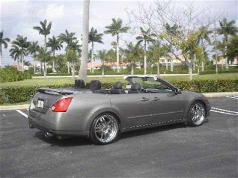 convertible nissan maxima carscoop nissan maxima convertible with doors