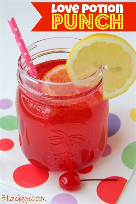valentines punch potion punch