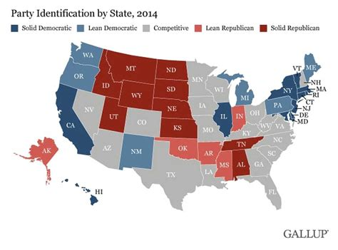 us map democratic states map the most democratic and republican states the