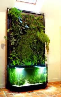 aquarium et mur v 233 g 233 tal nature design