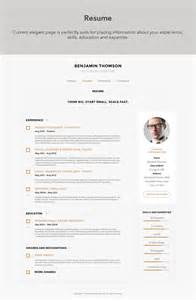 Retail Sales Report Template connecto modern vcard resume psd template psd templates