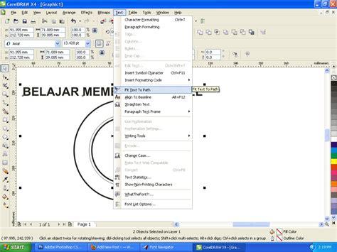 membuat rumah dengan corel draw x4 cara membuat stempel dengan corel draw x4 update exabapjl