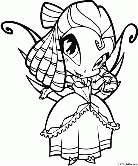 winx pop pixie colouring pages coloring home