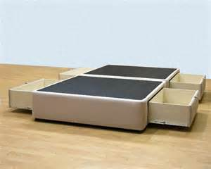 Platform Bed With Drawers Platform Bed With Storage Drawers Uphostered Storage Bed Frame Micro Fiber Ebay