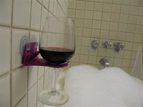 wine glass holder for bathtub 25 best ideas about bathtub wine glass holder on
