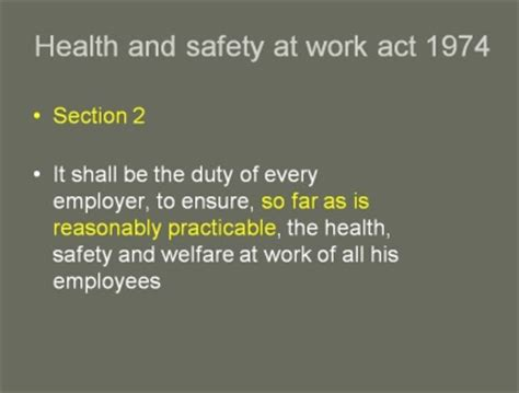 health and safety at work act 1974 section 8 health and safety at work act sections 28 images
