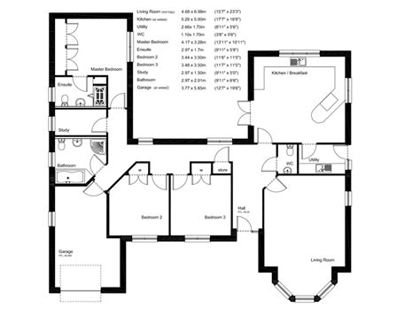 floor plans uk house plans and design architect plans for bungalows uk