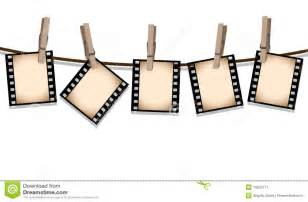 sepia film strips hanging out to dry stock image image