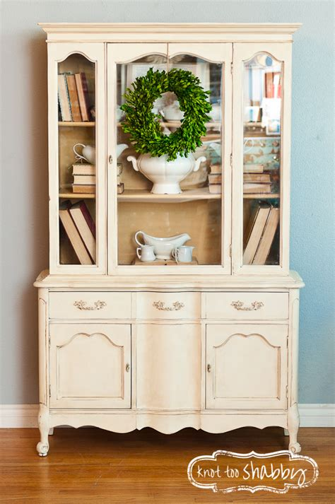 what to put in a china cabinet besides china staging furniture knot shabby furnishings
