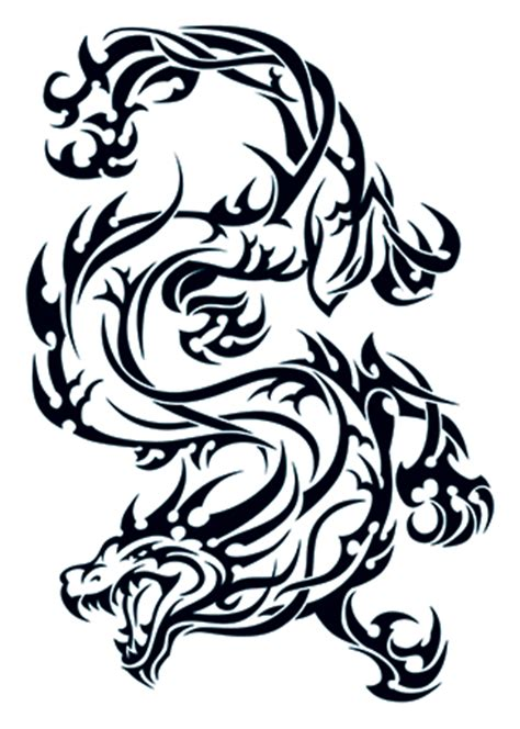 tribal dragon tattooforaweek temporary tattoos largest