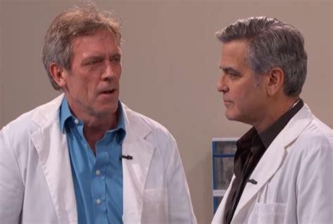 Dr House Serial George Clooney Papelpop