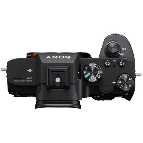 sony frame mirrorless sony a7 iii compact frame mirrorless digital