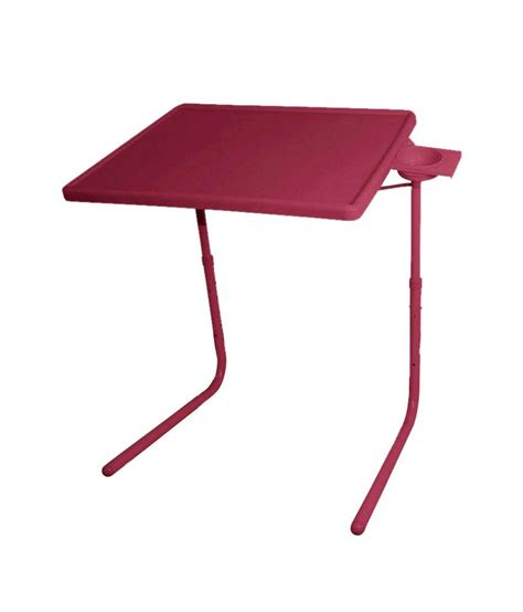 table mate adjustable table skyshopproducts brown table mate ii 2 folding portable