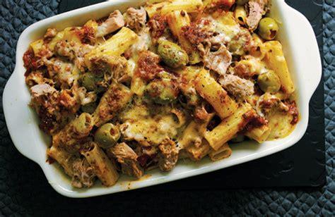 tuna pasta bake recipe oliver programmes food channel 4