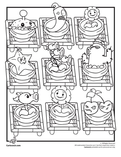 zen garden coloring page plants vs zombies coloring pages plants vs zombies zen