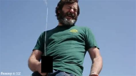 nick offerman out there watch nick offerman get drunk on 40s take his penis out