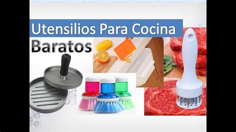 utensilios de cocina comprar  youtube