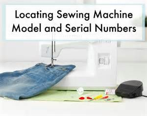 new home sewing machine serial number locating sewing machine model and serial numbers thriftyfun