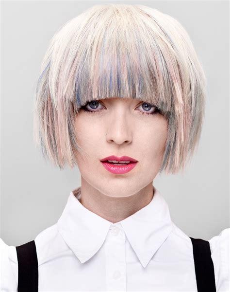 punk hairstyles bangs women s punk grunge hairstyles wardrobelooks com