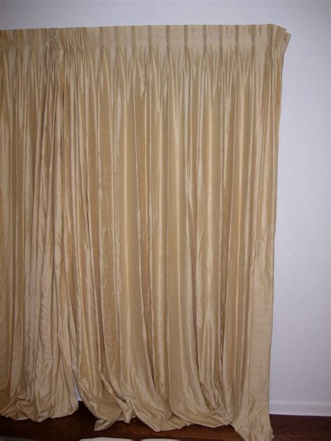 pull cord curtains the frugal ecologist triple pinch pleat curtains